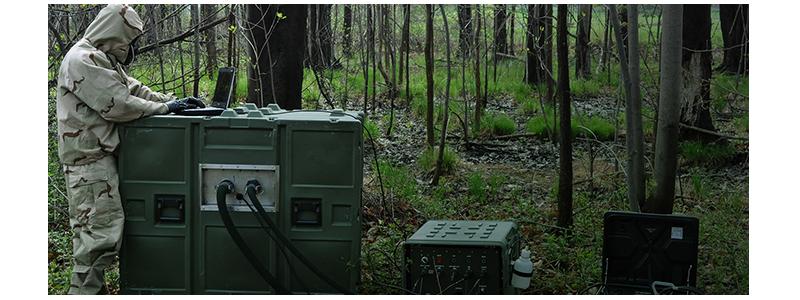 M2DCON logo Decontamination